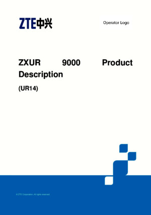 ZXUR 9000 UR14 GU Dual Mode Product Description (1)