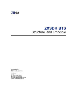 06 GB_SS43_E1_0 ZXSDR BTS Structure and Principle 113
