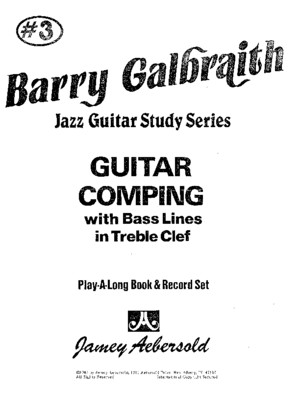 Barry Galbraith - Guitar Comping - Bookpdf