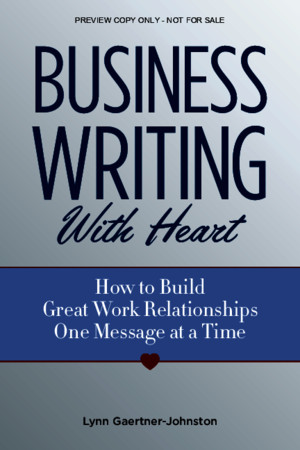 Business Writing With Heart Chapter 1 Previewpdf