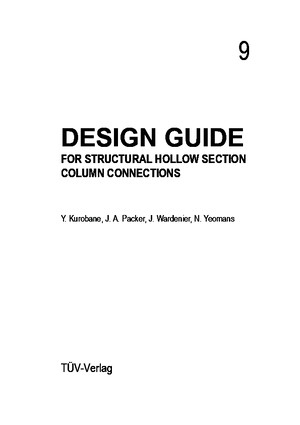 183822548 Design Guide for Structural Hollow Section Column Connections