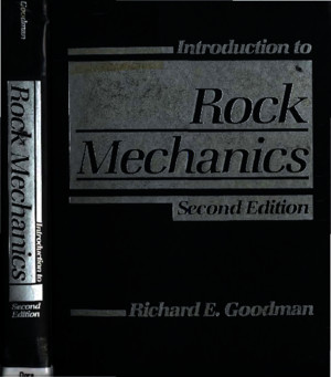 212368388 Goodman R E Introduction to Rock Mechanics 2nd Edition