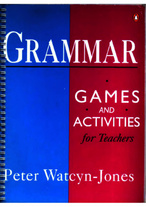 Grammar Games and Activities for Teachers