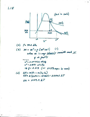 Introduction to Chemical Engineering Thermodynamics Selected Solutions