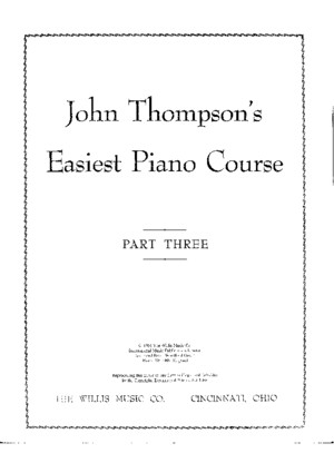 John Thompson - Easiest Piano Course Part 7