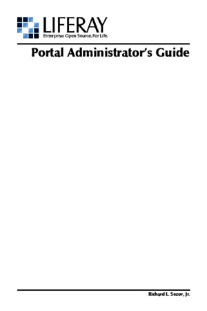 Liferay Portal Administration Guide 42