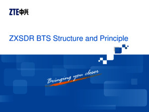 6GB_SS45_E1_1 ZXSDR BTS Structure and Principle(RSU82) 64