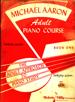 Michael Aaron Adult Piano Course Book 1
