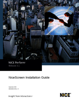 Nice Screen Installation Guide - Rev A1