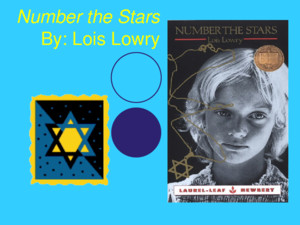 Number the Stars By: Lois Lowry Novel Scavenger Hunt Check out the book and answer the following questions 1)1) Title of Book 2)2) Author 3)3) Publisher