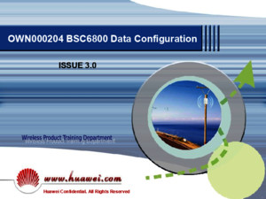 9 BSC6800 Data Configuration ISSUE30