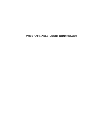 Programmable Logic Controller 2