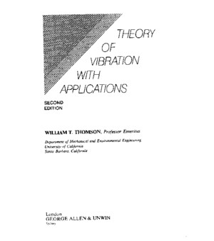 Theory of Vibration With Applications, Thomson