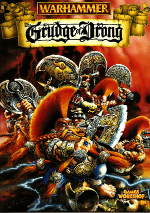 Warhammer 5th Edition Expansion Grudge of Drong 1997